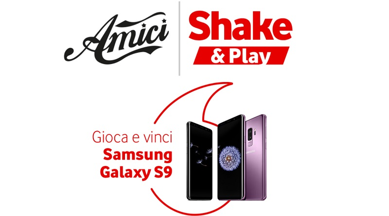 Concorso Vodafone Shake & Play