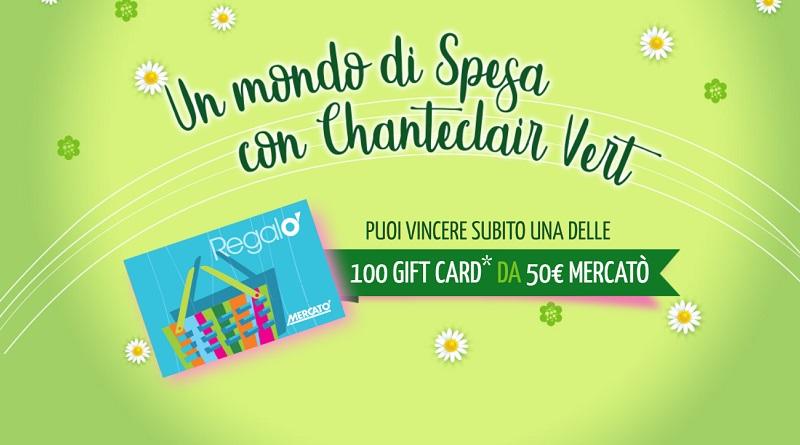 Concorso Un mondo di spesa con Chanteclair Vert