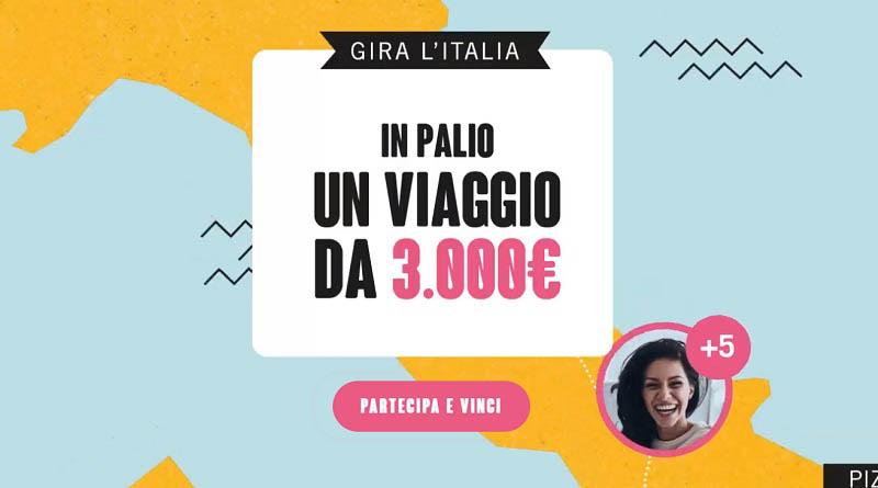 Concorso gira l'Italia con Eurospin viaggi