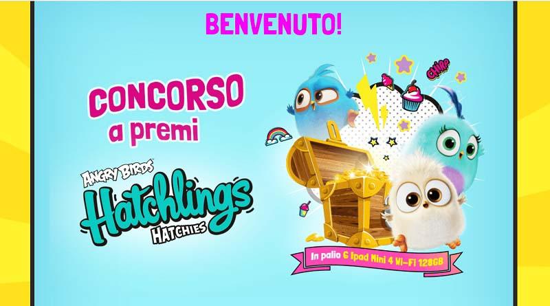 Concorso De Agostini Angry Birds Hatchlings