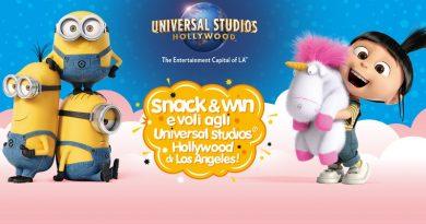 Concorso Muller Snack e Win, partecipa e vola agli Universal Studios di Los Angeles