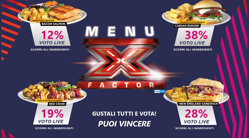 Concorso X Factor Old Wild West