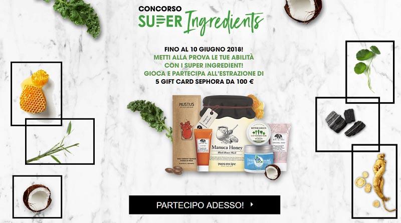 Super Ingredients Sephora