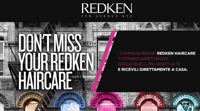 Campioni omaggio prodotti Redken