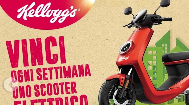 Vinci ogni settimana uno scooter elettrico con Kellogg's