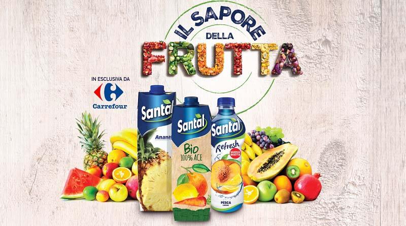 Concorso Santal il sapore della frutta, esclusiva da Carrefour