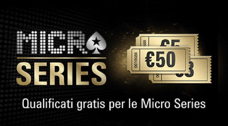 Micro Series, la nuova promozione estiva di PokerStars