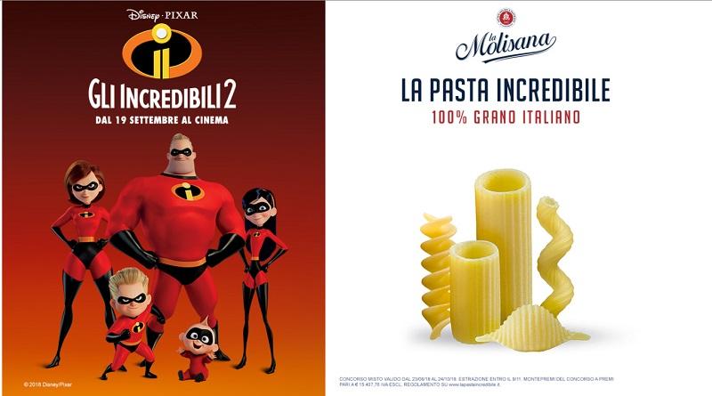 Concorso a premi La Molisana, la pasta incredibile