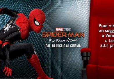 Concorso con Italo Spiderman, vinci viaggio a Venezia
