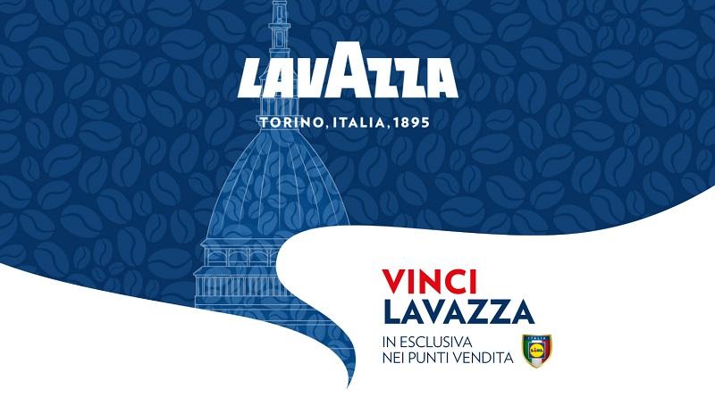 Vinci Lavazza in esclusiva da LIDL
