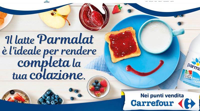 Concorso Parmalat, partecipa e vinci gift card Carrefour