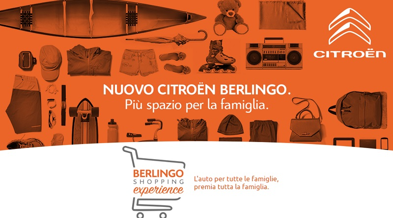 Concorso Citroen Berlingo Shopping Experience