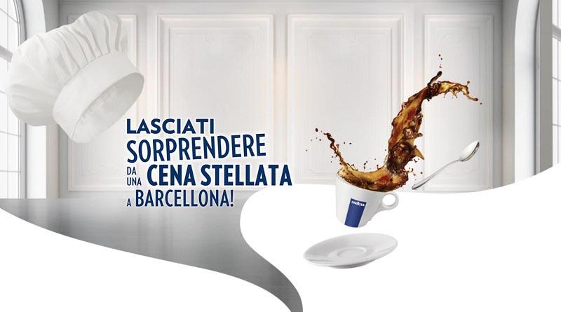 Concorso Lavazza, vinci cena stellata a Barcellona