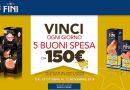 Concorso Negroni, vinci ogni giorno 5 buoni spesa da 150 euro