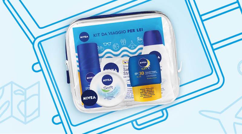 Vinci un travel kit Nivea