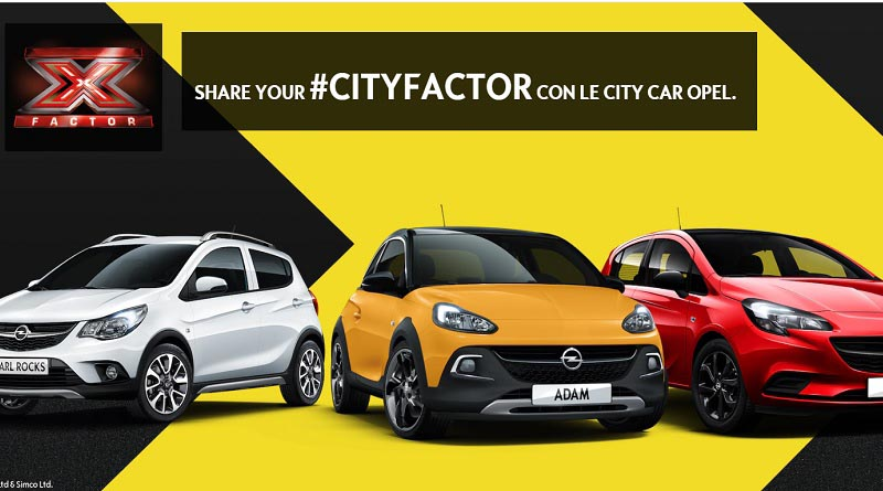 Share Your #cityfactor con Opel
