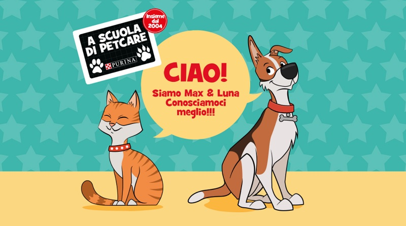 Concorso a premi Purina a scuola di Pet Care