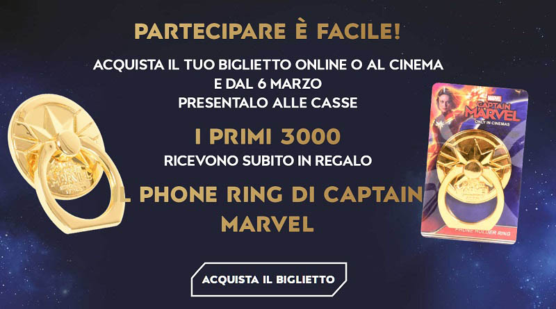 Concorso UCI Cinemas Captain Marvel
