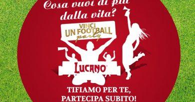 Concorso a premi Amaro Lucano, vinci football party a casa tua