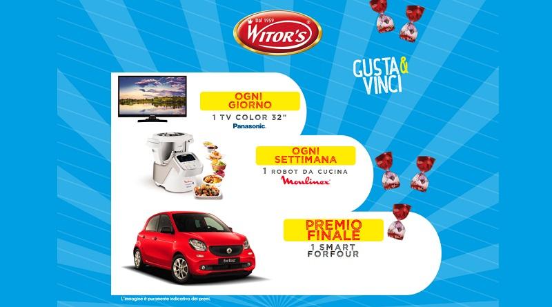 Concorso Gusta e vinci con Witor's