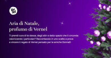 Concorso fotografico DonnaD, scatta il Natale e vinci prodotti Vernel