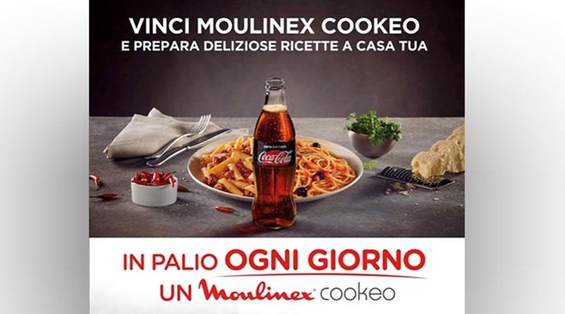 Concorso a premi Coca Cola, vinci Cookeo Moulinex