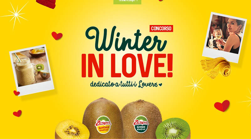 Concorso Zespri, winter in love