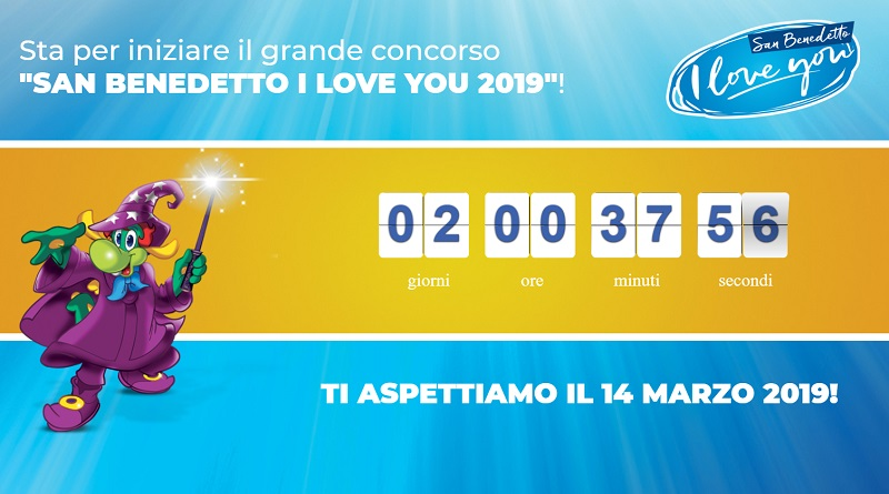 Concorso a premi San Benedetto I Love You 2019