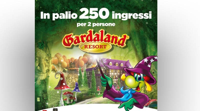 Concorso Coca Cola, partecipa e vinci Gardaland