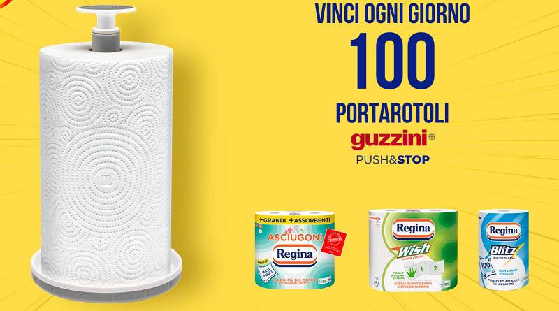 Concorso Regina, vinci 100 portarotoli Guzzini