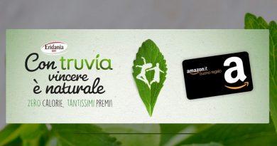Con Truvia vincere è naturale, vinci buono Amazon e consulenza con gli esperti