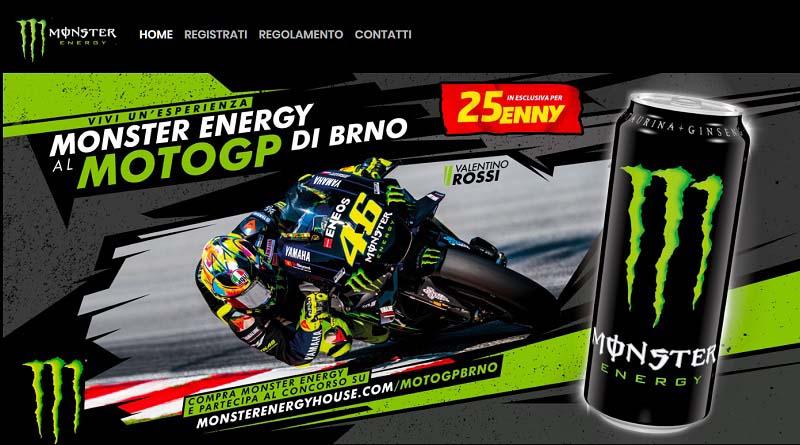 Concorso Monster, vinci GP di Brno