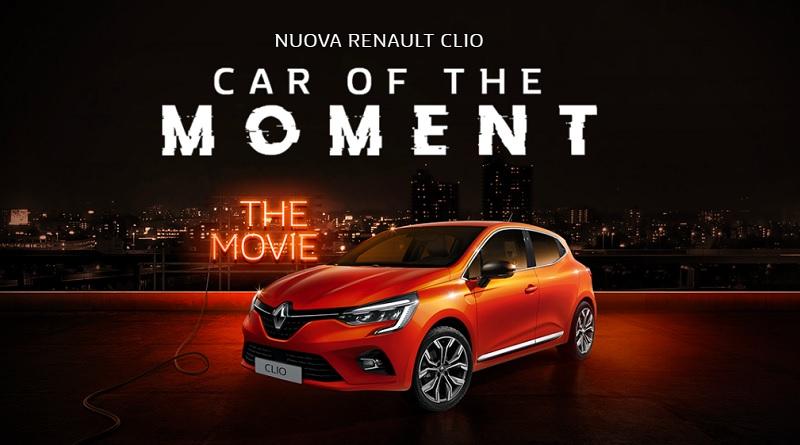 Concorso Renault Clio car of the moment, partecipa e vinci buoni TicketOne