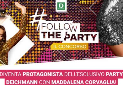 Concorso a premi Deichmann Follow the party