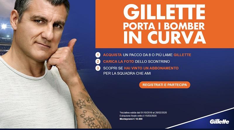 Concorso a premi Gillette Shave like a bomber
