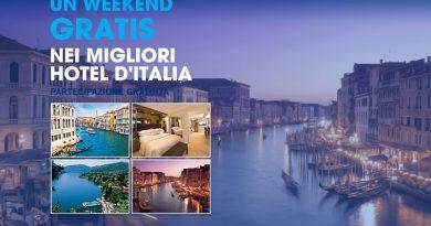 Partecipa e vinci weekend gratis nei migliori hotel d'Italia