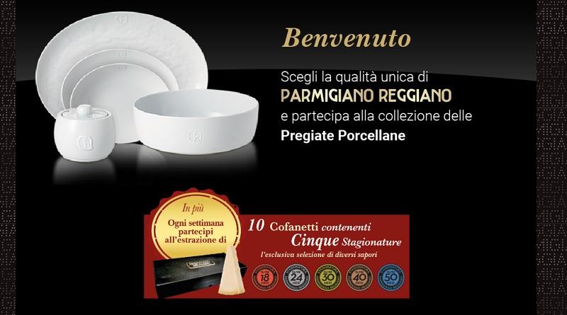 Concorso a premi e raccolta punti Parmigiano Reggiano, premi pregiati