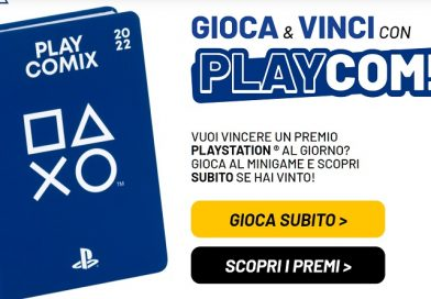 Concorso Play Comix 2022, vinci premi Playstation